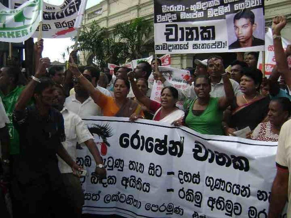 That sky is still dark, Ten years of memories of Roshen Chanka who did not get justice.